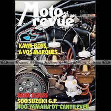 MOTO REVUE N°2298 YAMAHA DT 400 SUZUKI RG 500 COUPE KAWASAKI S3 TRIUMPH 750 1976
