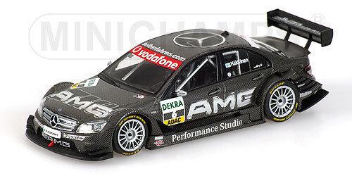 Mercedes C-Class AMG DTM 2007 Piloto Hakkinen 1 43 Minichamps