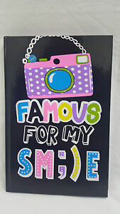 LED Kids Girls Boys Camera Smile Funky Flashing Diary Notebook Selfie Book Teen