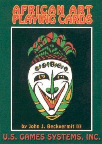 New, African Art Playing Card, John I., III Beckvermit, Book