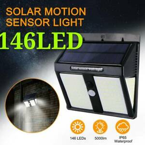 LED-Projecteur-Lampe-Solaire-Murale-Capteur-Lumiere-Securite-Exterieure-Capteur