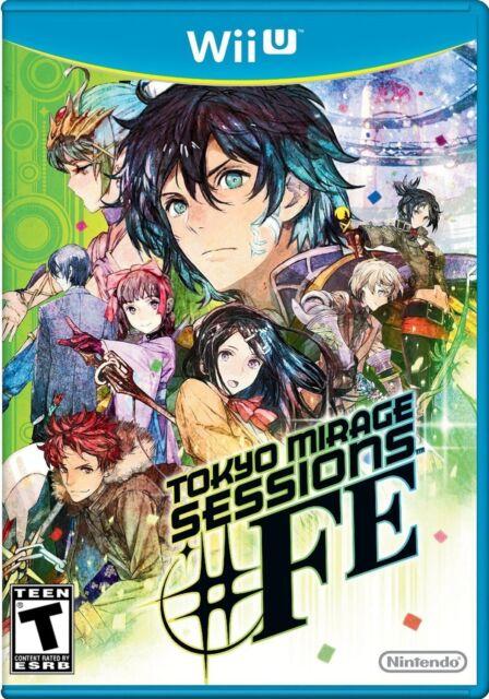 NEW Tokyo Mirage Sessions #FE: Standard Edition (Nintendo Wii U, 2016)