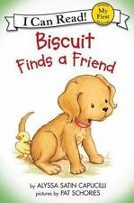My First I Can Read: Biscuit Finds a Friend by Alyssa Satin Capucilli (1998, Paperback)