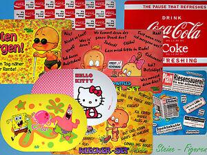 Table-Set-Space-Doily-Underlay-Spongebob-Hello-Kitty-Coca-Cola-Diaper-Winni
