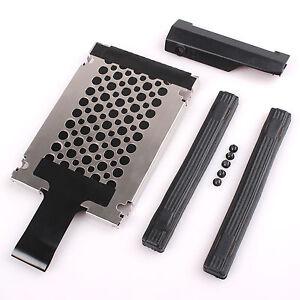 HDD-Hard-Drive-Cover-Caddy-Rails-Set-For-IBM-LENOVO-Thinkpad-T410-T410i-14-034