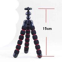 Mini Soft Flexible Tripod Stand for Canon Nikon Sony Casio DC Digital Camera Red