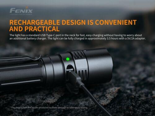 New Fenix PD40R V2.0 Luminus SST70 3000Lumens LED Flashlight NO Battery