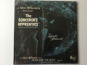 WALT-DISNEY-Peter-And-The-Wolf-The-Sorcerer-039-s-Apprentice-HOLLOWAY-LP-bonus-CD