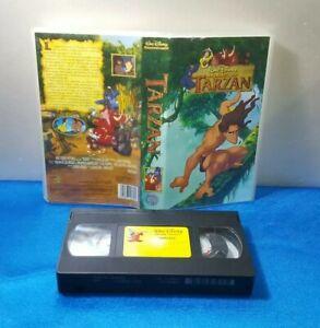 PELICULA-VHS-CINTA-VINTAGE-ESPANOL-TARZAN