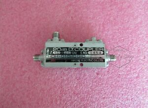 used 1-2GHz 20dB SMA RF Coaxial directional coupler