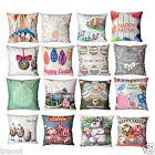 Easter Square Velvet Sofa Bed Home Decoration Festival Pillow Case Cushion Cover