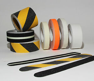 25 mm breite anti rutsch streifen treppe gewerblich 60 iger k rnung runde enden ebay. Black Bedroom Furniture Sets. Home Design Ideas