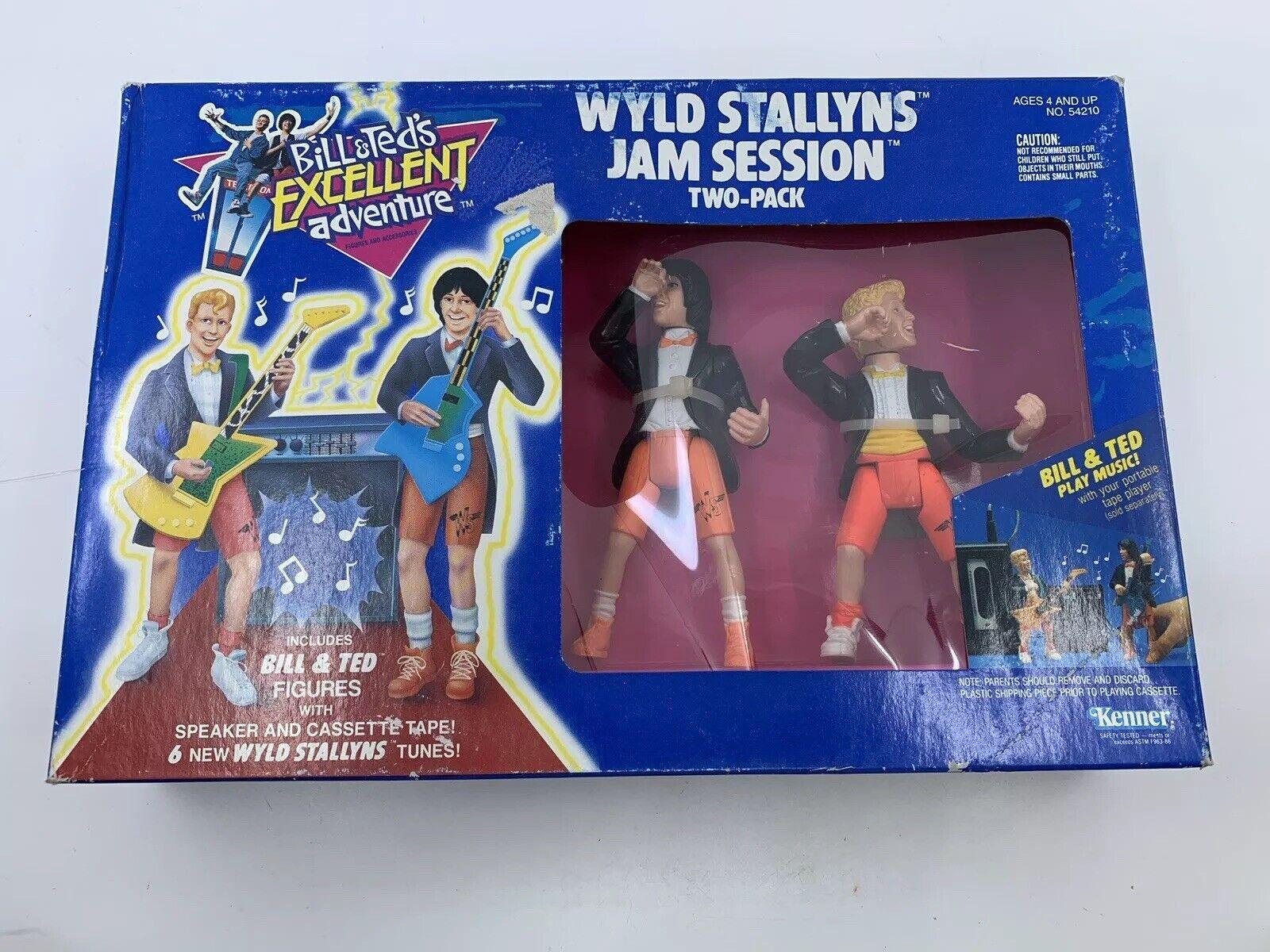 Bill & Teds Excelente Aventura Wyld stallyns Jam Session figura de acción paquete de dos