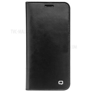 size 40 a9526 c85c2 Details about QIALINO Premium Genuine leather phone case for Iphone x Black