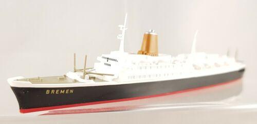 Wiking Passagierschiff T.S Bremen 1:250 aus Packung Set