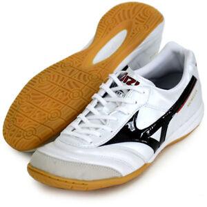 ba23fbf1a Mizuno JAPAN MORELIA IN White Soccer Futsal Indoor Football Shoes ...
