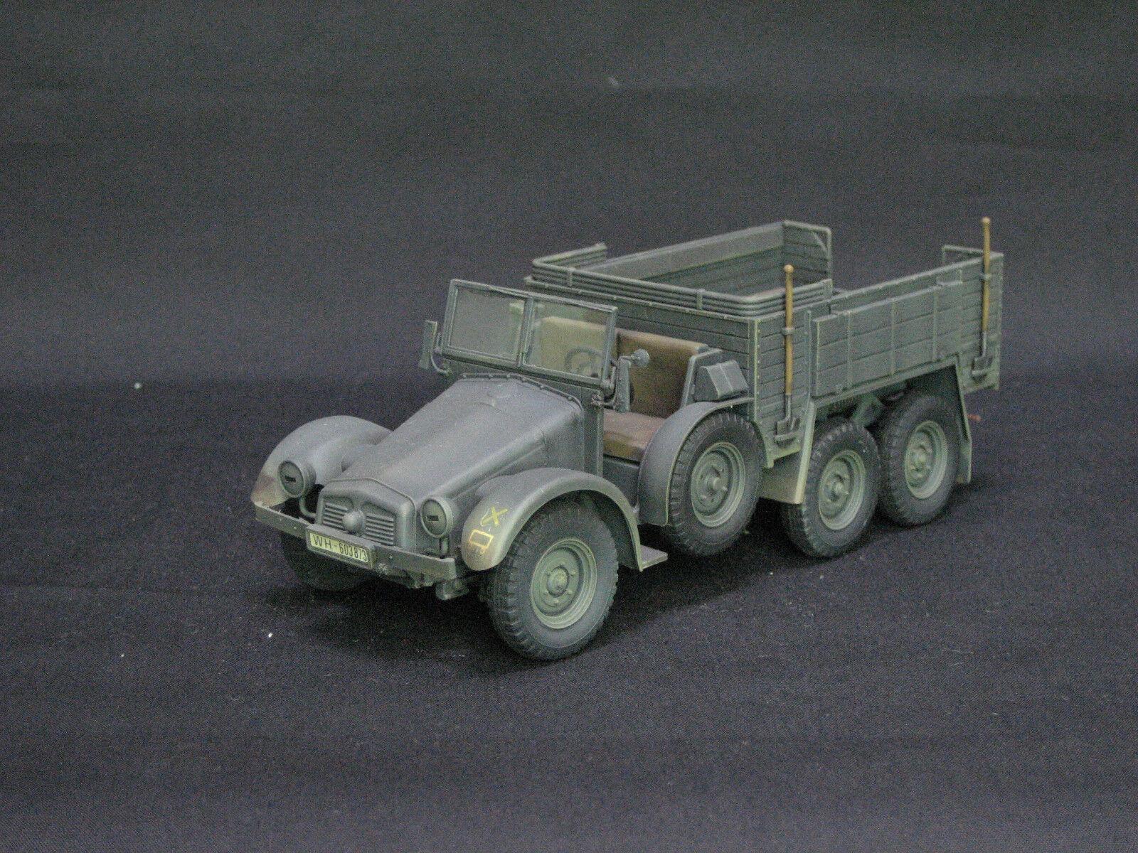 Tamiya 6x4 camión Krupp projoectze pro - manufactura y pintura 1   35 modelo