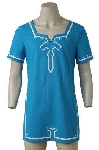 hot-cakes The Legend of Zelda Breath of the Wild Link Cosplay Costume Shirt Top