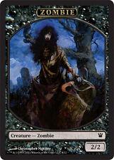 4x TOKEN Zombie 2/2 8/12 MTG MAGIC ISD Innistrad Ita