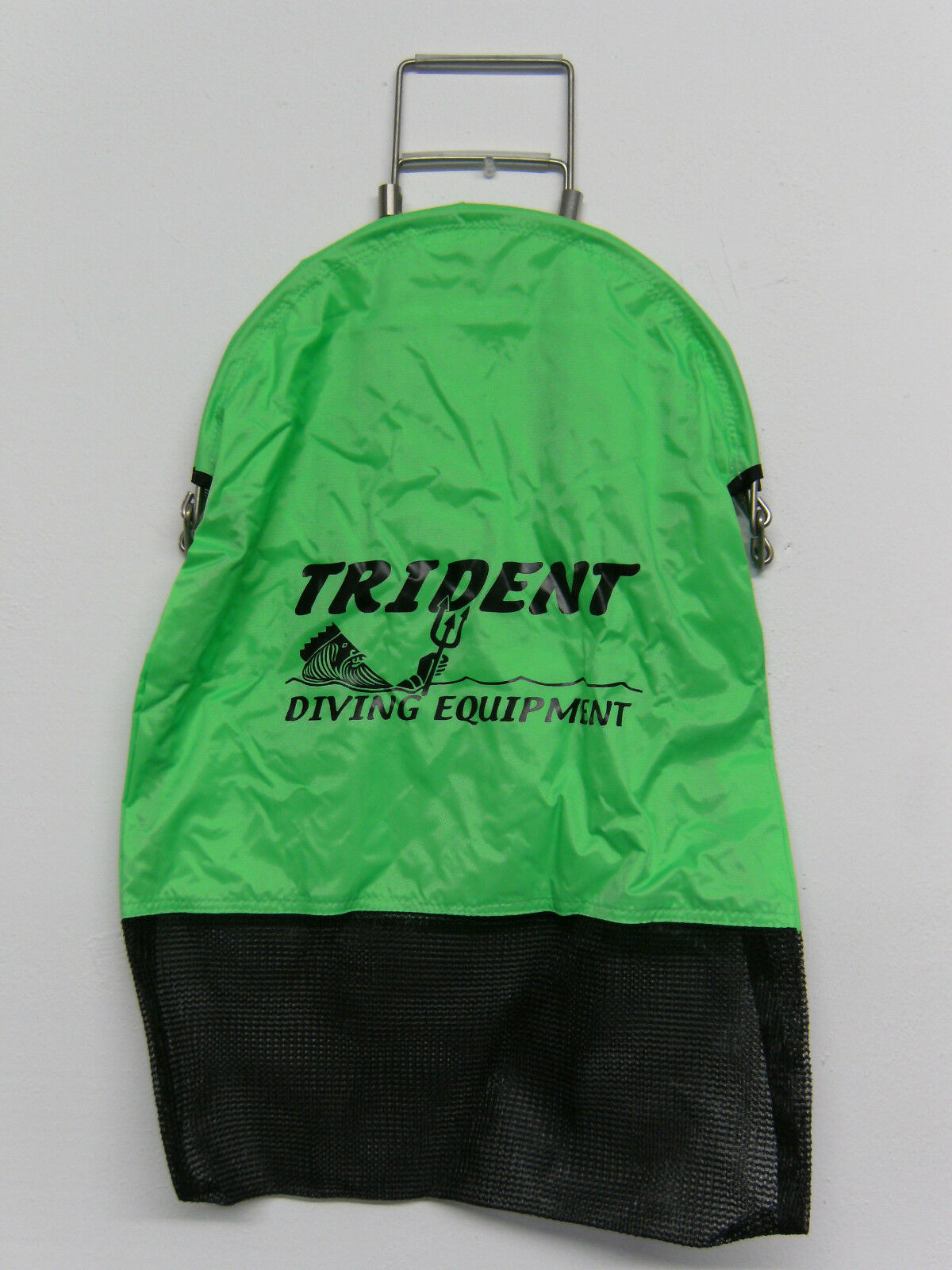 Trident Lobster Squeeze 1 Handed Open Game Bag w D-ring Scuba GR GB67