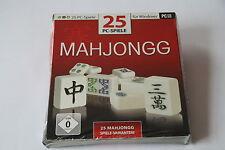 25 PC Spiele Mahjongg    (PC-CD)   Neuware   New