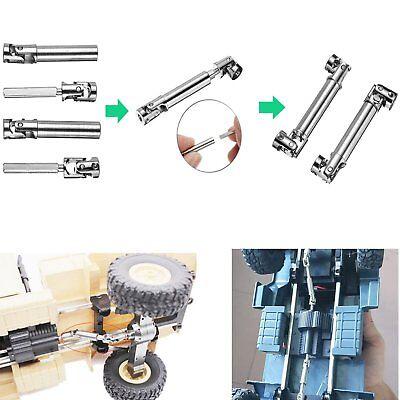 Stahl Einziehbar Antrieb Swelle Drive Shaft für WPL 1//16 1//24 Militär LKW RC Car