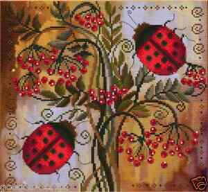 Stick-envase-mariquitas-cruz-pinchazo-perlas-25x23-cm-Ladybugs-biser-DIY-hhd4067