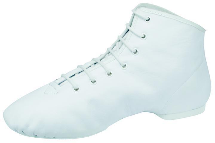 BLEYER 4680-L Orleans Gardestiefel Garde Tanzstiefel Rauledersohle weiß weiß weiß 659965