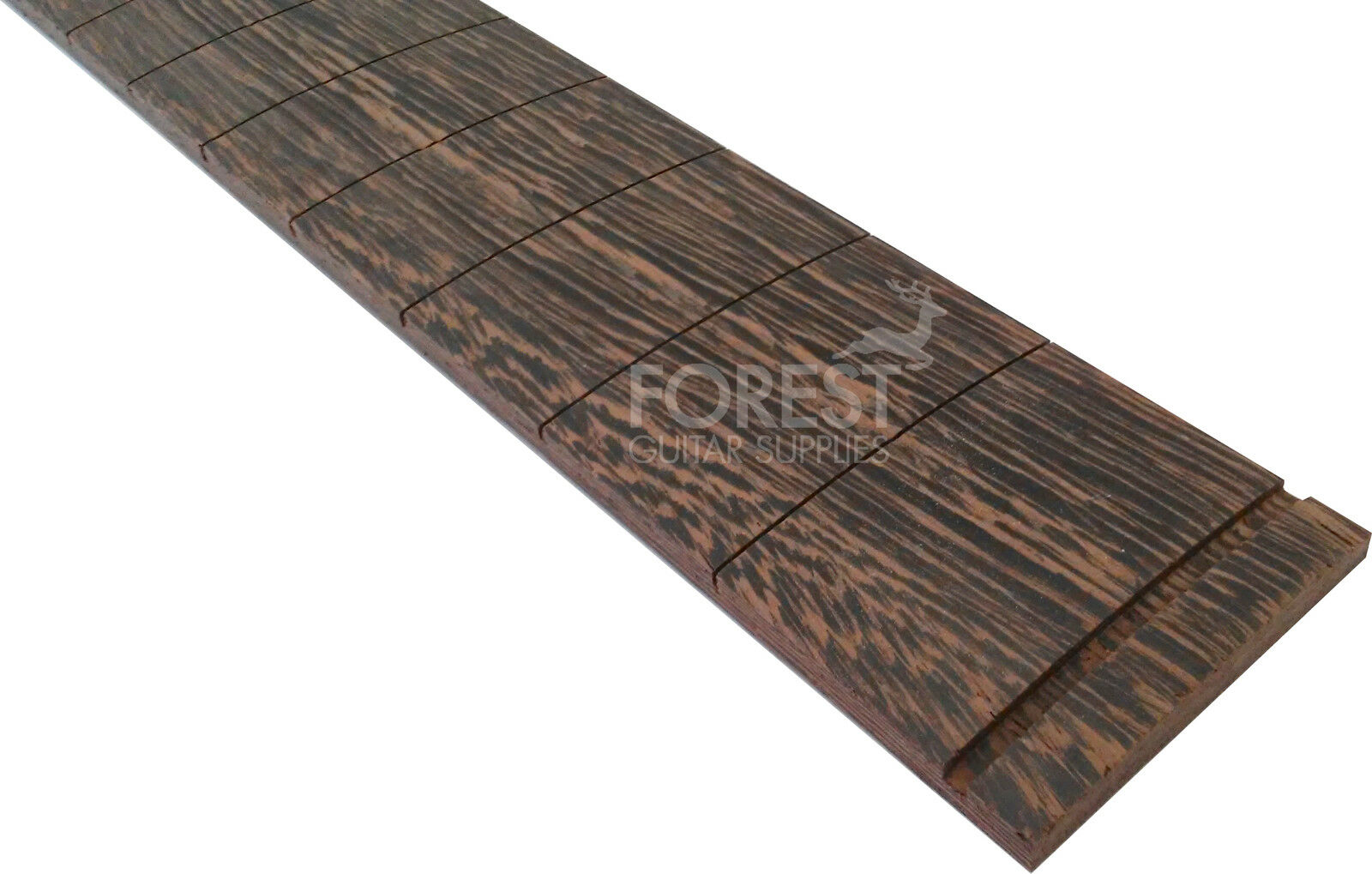 Wenge Guitar Fretboard, Fingerboard 25.5   Fender Scale Compound Radius 10-16