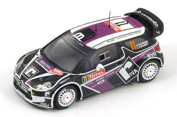 SPARK Citroen DS3 No.11 WRC Rally Monte Carlo 2012 P. van Merksteijn  S3329 1 43