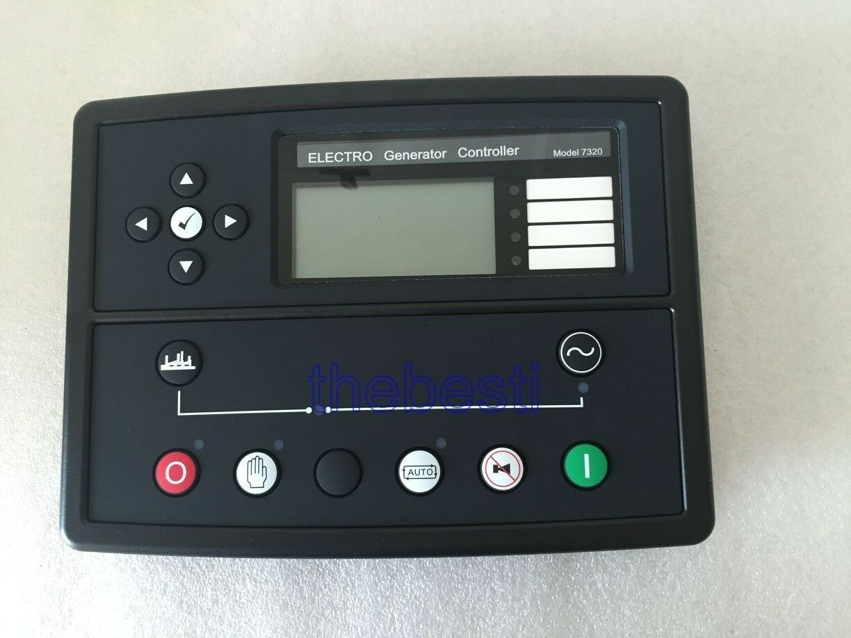 1 PC New 7320 Generator Auto Start Controller Replacement of Deepsea DSE7320 UK