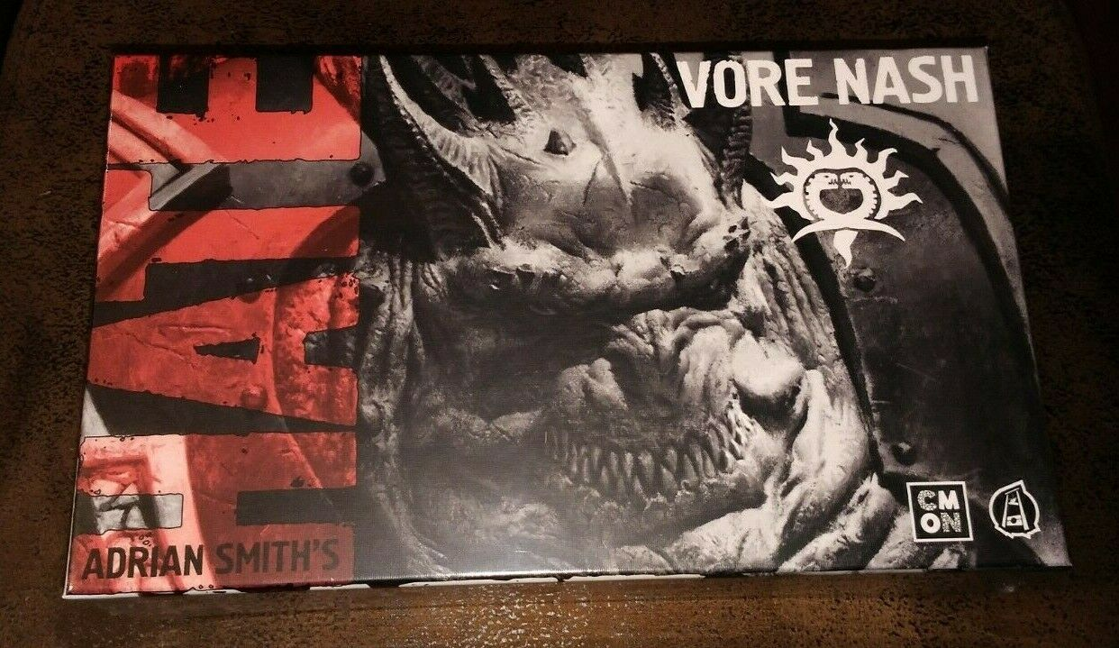 Hate-Tribe of Vore Nash-Boardgame-kick Starter Exclusiv by Adrian Smith