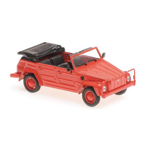 Maxichamps-940050031-VW-181-Red-Scale-1-43-Model-Car-New