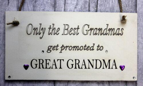 Placa Personalizada sólo los mejores abuela-Gran Regalo De La Abuela-abuelos
