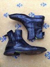 Oliver Sweeney Men's Black Leather Chelsea Dealer Boots UK 8 US 9 EU 42