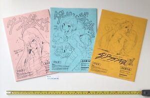 Darling-en-el-Franxx-Japones-Caligrafia-Libro-Episodio-1-a-3-Set-de-Japon-Anime