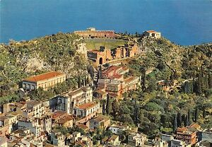 B68963-Taormina-Panorama-e-Teatro-Greco-italy