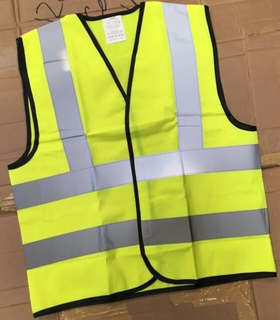 Other Kids' Clothing & Accs Childrens Kids High Visibility Hi Vis Viz Waistcoats En1150 Business & Industrial