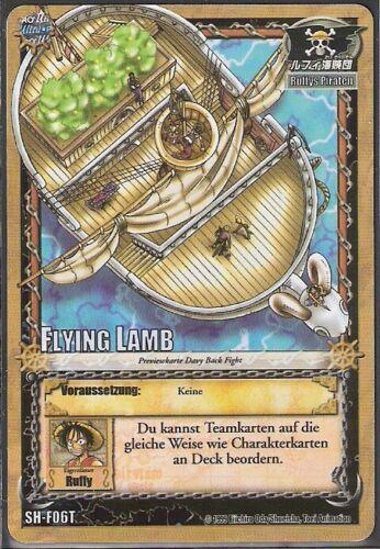 Foil-Karte • One Piece Einzelkarte SH-F06T Flying Lamb • Holo