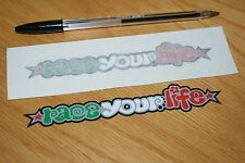 """Marco Simoncelli """"Race Your Life"""" Screen Decals (Pair)"""