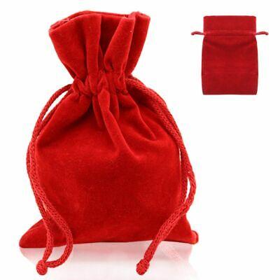 10 20 50 Schmuckbeutel Schmuck Geschenk Verpackung Samt-Beutel Säckchen