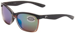 98b8916971 Costa Del Mar Anaa Sunglasses ANA-107-OGMGLP Black Brown   W580 ...