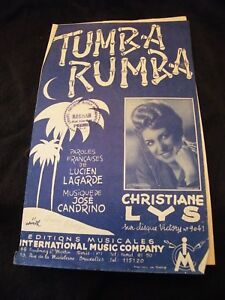 Partition-Tumba-rumba-Christiane-Lys-Music-Sheet