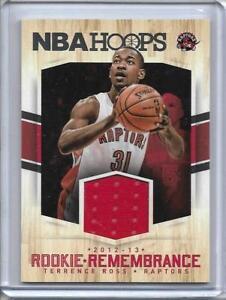 TERRENCE-ROSS-TORONTO-RAPTORS-2012-13-NBA-HOOPS-PLAYER-WORN-JERSEY-CARD