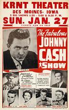 "Johnny Cash Show Poster Replica 13 x 19"" Photo Print"