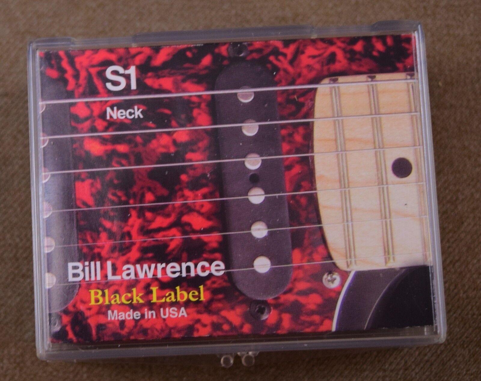 Bill Lawrence schwarz Label Set of Strat Type Pickups (S-1, S-2, S-3)
