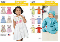Lot Of 2 Simplicity Creative Kids Patterns -1a15 144h