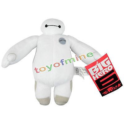 "New 7"" 18cm White BIG HERO 6 BAYMAX ROBOT Plush Stuffed Toy Dolls Kids Gift"