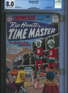 CGC-8-0-SHOWCASE-26-CREAM-TO-OFF-WHITE-PAGES-RIP-HUNTER-TIME-MASTER