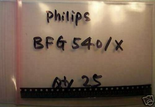 X,SOT-343,25pcs Philips Npn 9GHz Wideband Transisior BFG540W